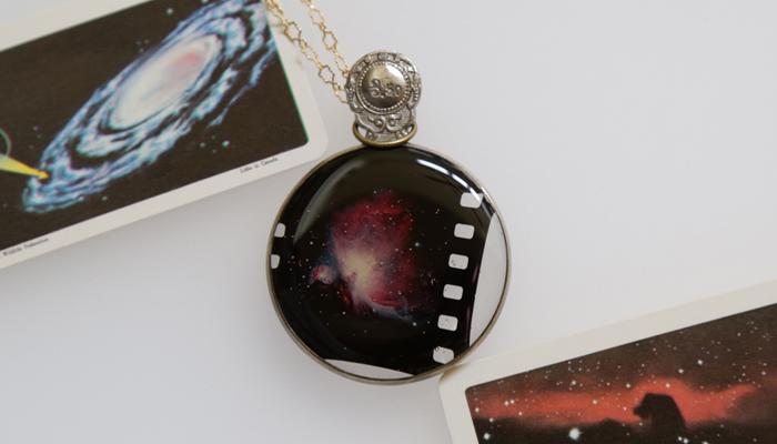 宇宙寫眞透鏡〜planetarium lens〜