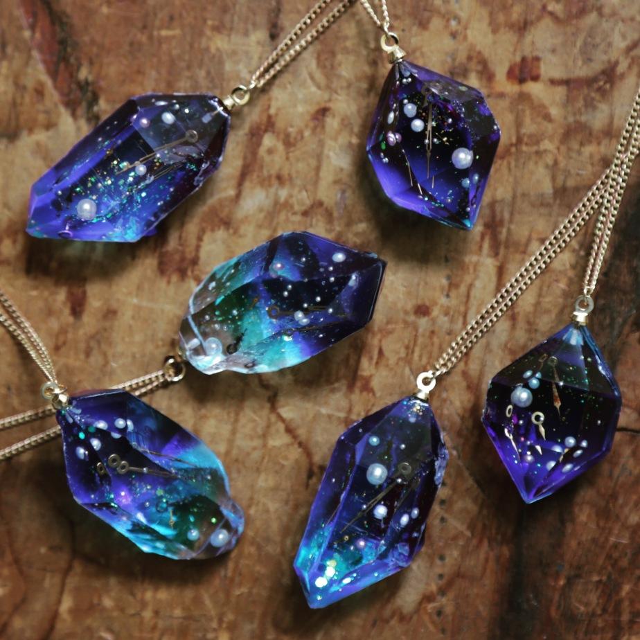 銀河結晶鉱石の首飾
