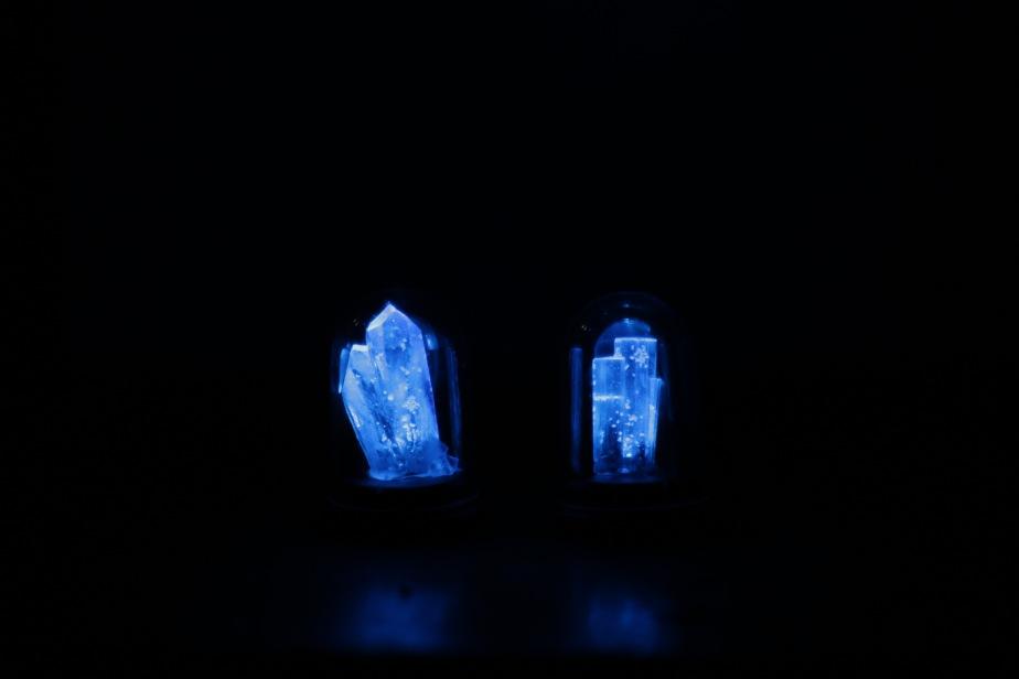 銀河結晶鉱石の標本ドーム