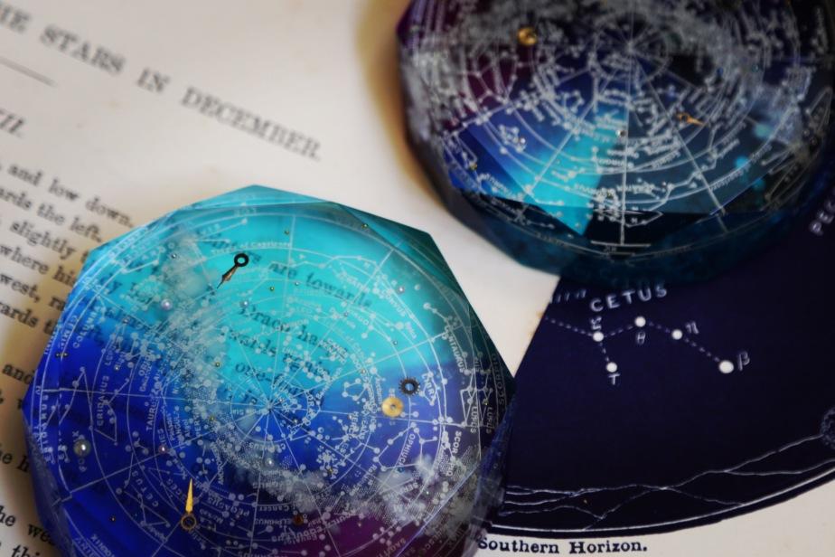銀河標本製作所 碧銀石の星圖盤